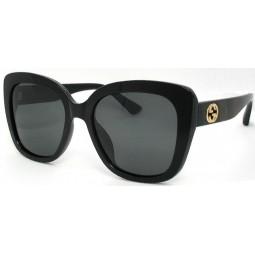 Солнцезащитные очки Gucci 0327 черные