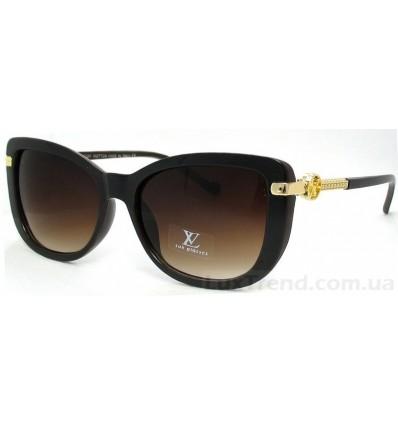 Солнцезащитные очки 9328 коричневые градиент