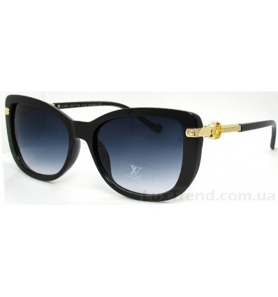 Солнцезащитные очки 9328 черные градиент