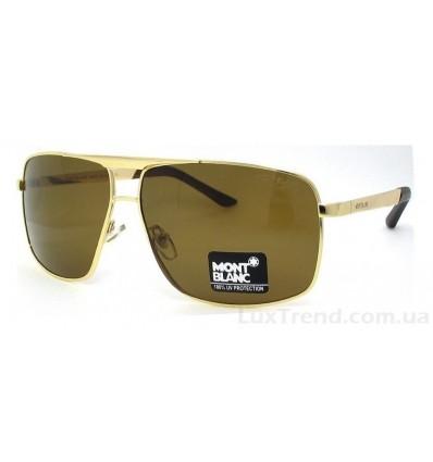 Солнцезащитные очки Mont Blanc 8658 золото