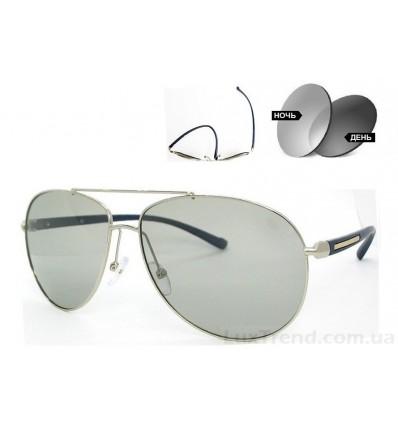 Солнцезащитные очки 2362 хамелеон антифары серые