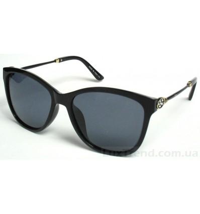 Солнцезащитные очки 077 круглые черные