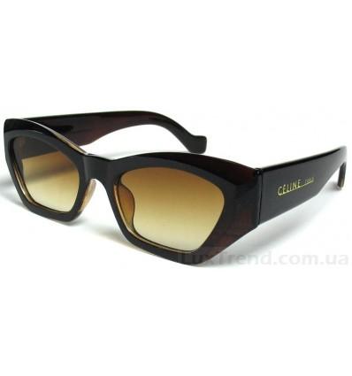 Солнцезащитные очки Celine 5095 коричневые градиент