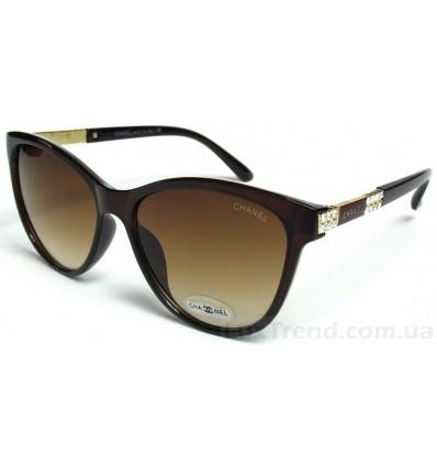 Солнцезащитные очки CHANEL 102 коричневые градиент