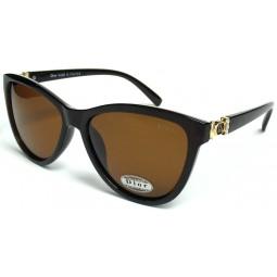 Солнцезащитные очки Dior 203 поляризационные коричневые