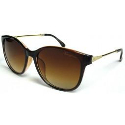 Солнцезащитные очки Ferragamo 2534 градиентные коричневые