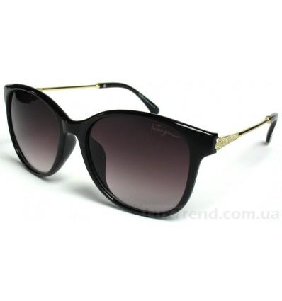 Солнцезащитные очки Ferragamo 2534 градиентные черные