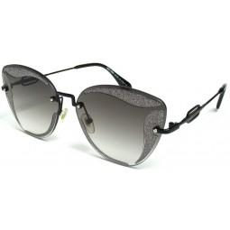 Солнцезащитные очки Miu Miu 071 градиентные черные
