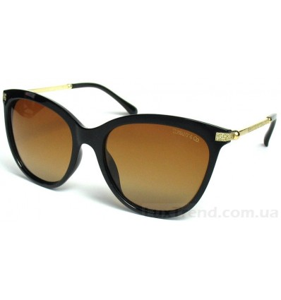 Солнцезащитные очки Tiffany 2801 поляризационные коричневые
