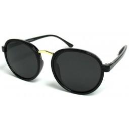 Солнцезащитные очки 0927 круглые черные