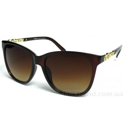 Солнцезащитные очки 3002 градиентные коричневые