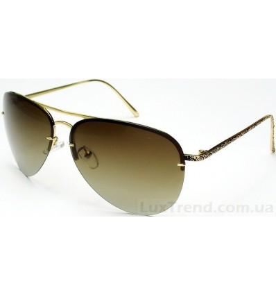 Солнцезащитные очки 305 золото / коричневые