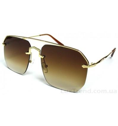 Солнцезащитные очки 289 градиент коричневые