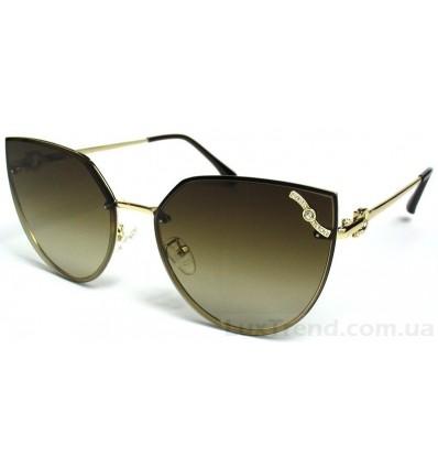 Солнцезащитные очки 17105 градиент коричневые