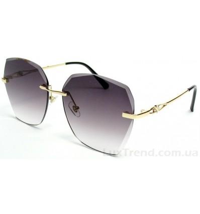 Солнцезащитные очки 026 золото градиент