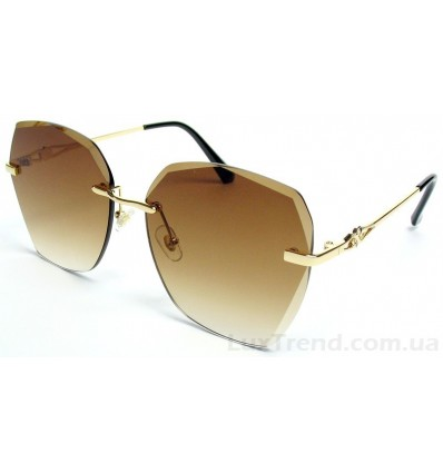 Солнцезащитные очки 026 градиент коричневые