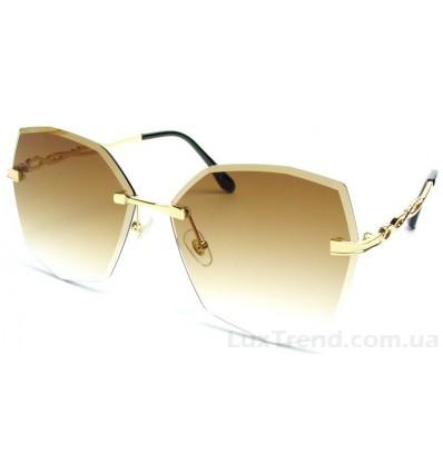 Солнцезащитные очки 032 градиент коричневые