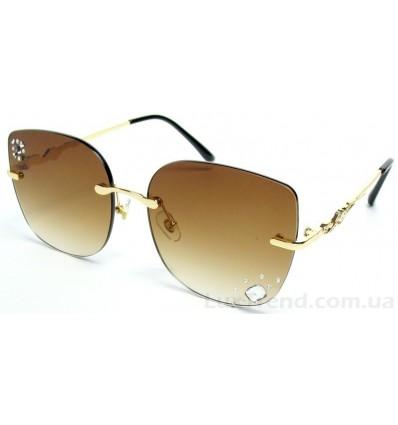 Солнцезащитные очки 048 градиент коричневые