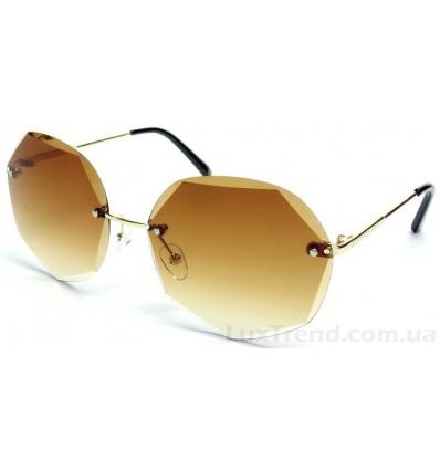 Солнцезащитные очки 1101 градиент коричневые