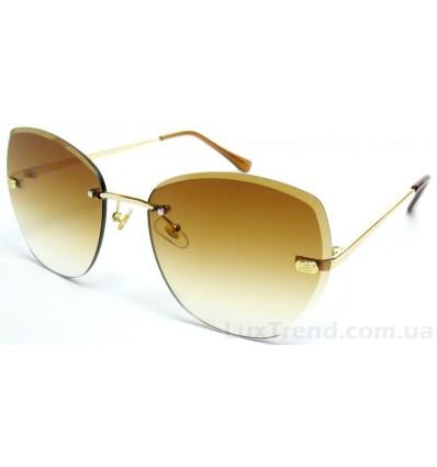 Солнцезащитные очки 5118 градиент коричневые