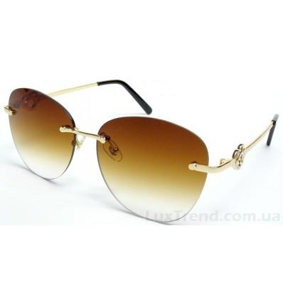 Солнцезащитные очки 5217 градиент коричневые