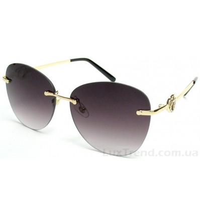 Солнцезащитные очки 5217 золото градиент