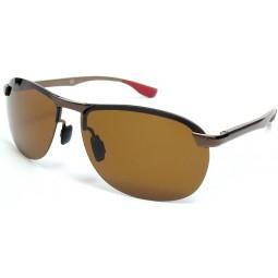 Солнцезащитные очки 4302 Aluminium коричневые