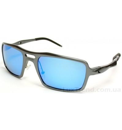 Солнцезащитные очки 201962 Aluminium зеркальные голубые