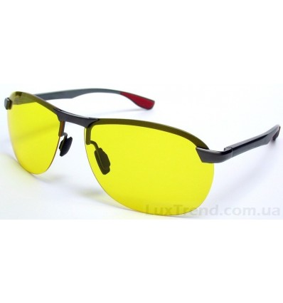 Очки для водителей 4302 Aluminium желтые
