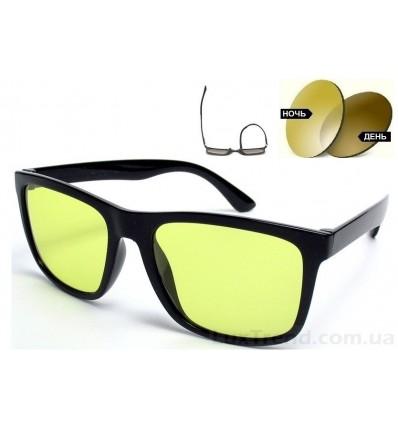 Очки для водителей 5048 TR 90 хамелеон оливковые