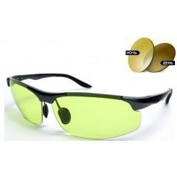 Солнцезащитные очки фотохромные 8003 Aluminium оливковые