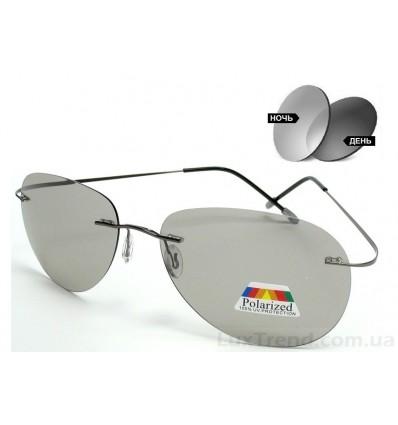 Солнцезащитные очки 76122 фотохромные серые