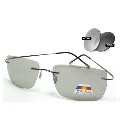 Солнцезащитные очки 76125 Titanium фотохромные серые
