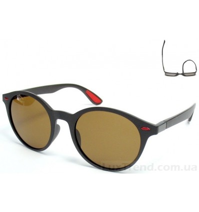 Солнцезащитные очки 599 TR 90 поляризационные коричневые