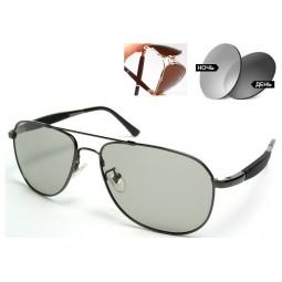 Солнцезащитные очки Titanium 638136 фотохромные серые