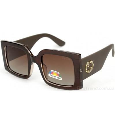 Солнцезащитные очки GUCCI 2107 поляризационные коричневые
