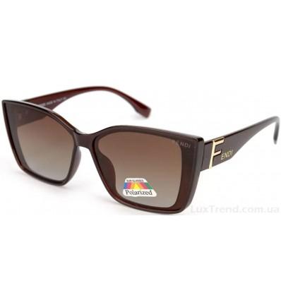 Солнцезащитные очки FENDI 2115 поляризационные коричневые