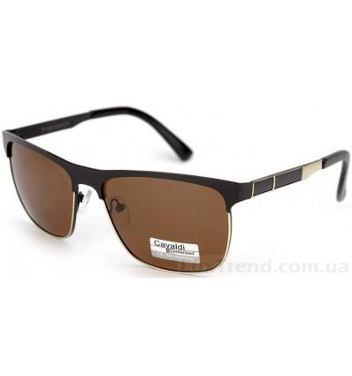 Солнцезащитные очки Cavaldi 5819 поляризационные коричневые