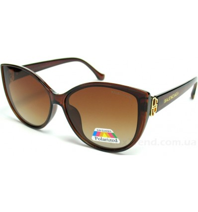 Солнцезащитные очки Balenciaga 2068 поляризационные коричневые