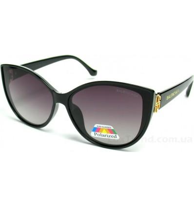 Солнцезащитные очки Balenciaga 2068 поляризационные черные