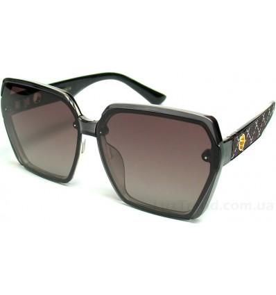Солнцезащитные очки Linda Farrow 6079 поляризационные коричневые