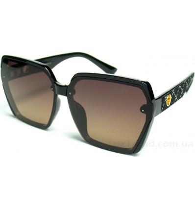 Солнцезащитные очки Linda Farrow 6079 поляризационные черные