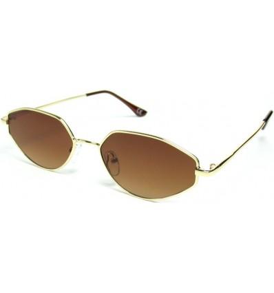Солнцезащитные очки 19216 градиент золото