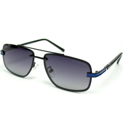 Солнцезащитные очки Mont Blanc 658 поляризационные черные