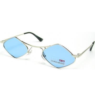 Солнцезащитные очки 31482 ромб поляризационные голубые