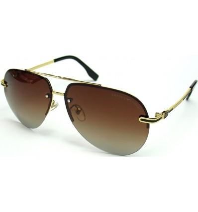 Солнцезащитные очки Armani 5009 поляризационные коричневые