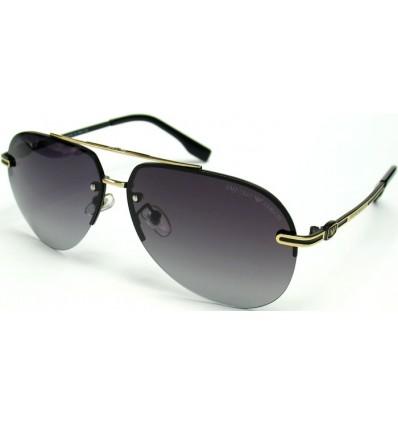 Солнцезащитные очки Armani 5009 поляризационные золото