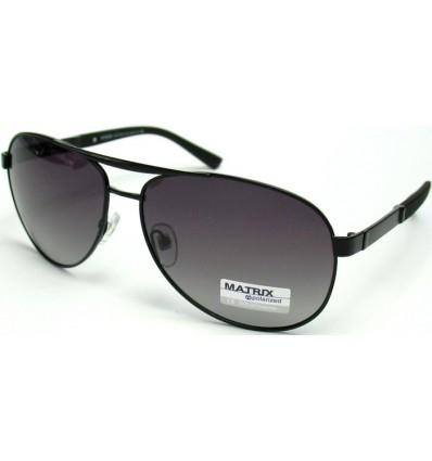 Солнцезащитные очки MATRIX 8480 поляризационные черные