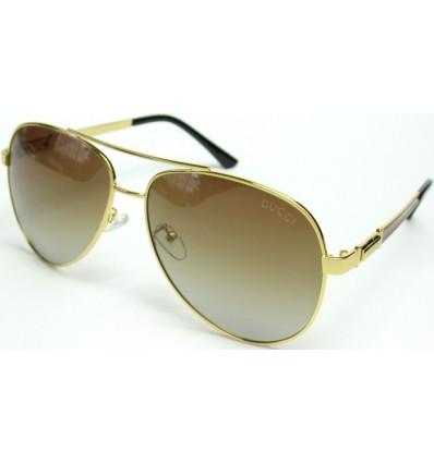 Солнцезащитные очки GUCCI 3826 поляризационные золото