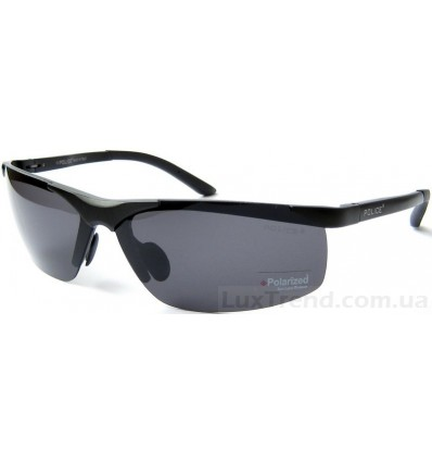 Солнцезащитные очки Police 6806 Aluminium черные матовые